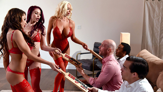 Watch Madison Ivy and Monique Alexander with Nicolette Shea now!