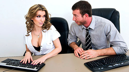 Watch Courtney Cummz at Big Tits at Work now!