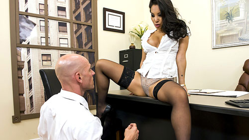 Watch Asa Akira at Big Tits at Work now!